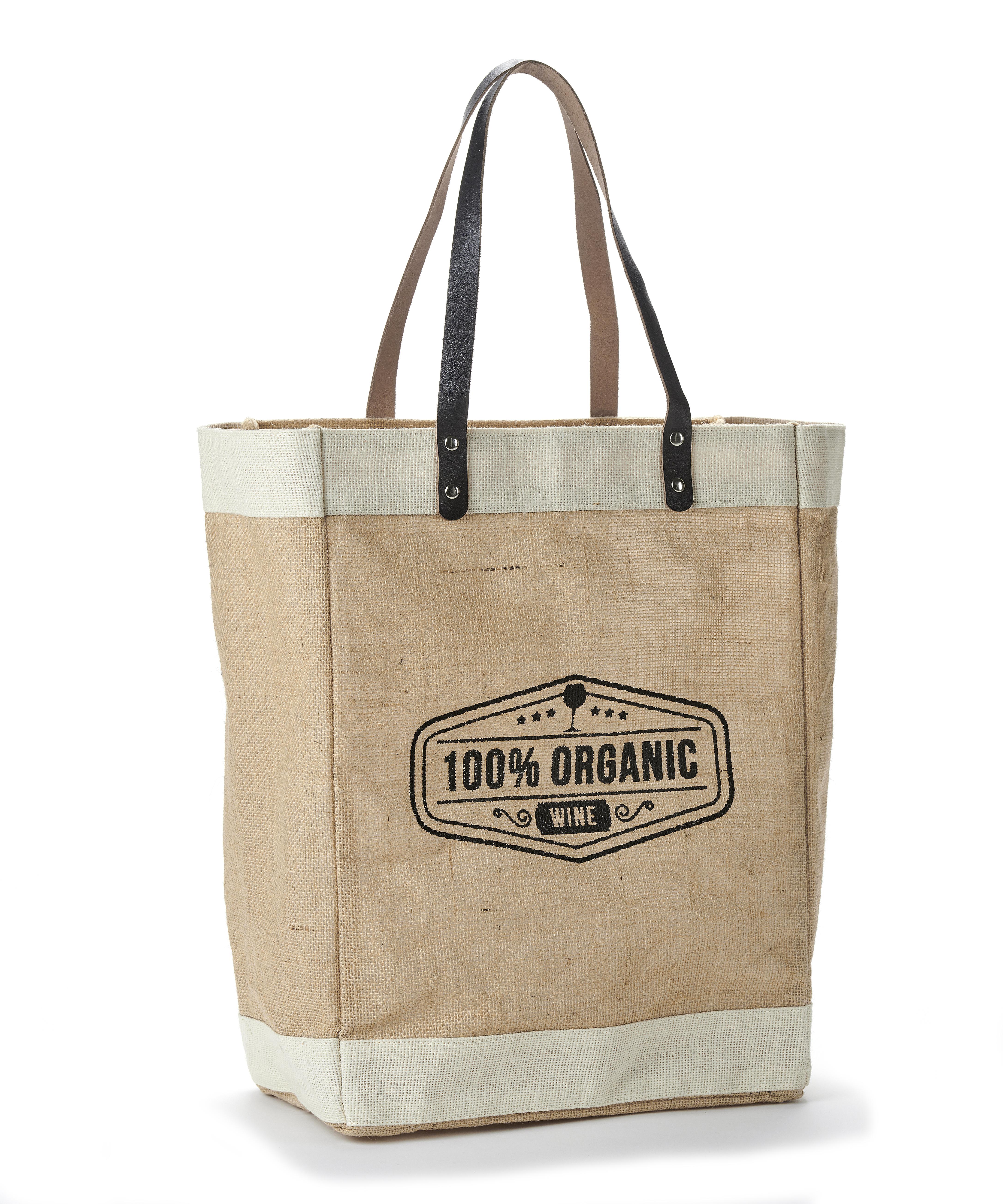 Jute 100% Organic Tote Bag