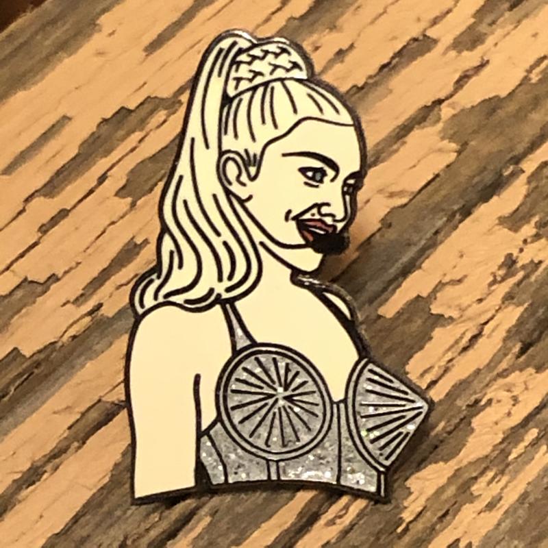 Madonna Enamel Pin