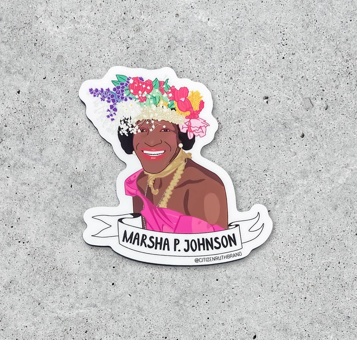 Marsha P. Johnson Sticker