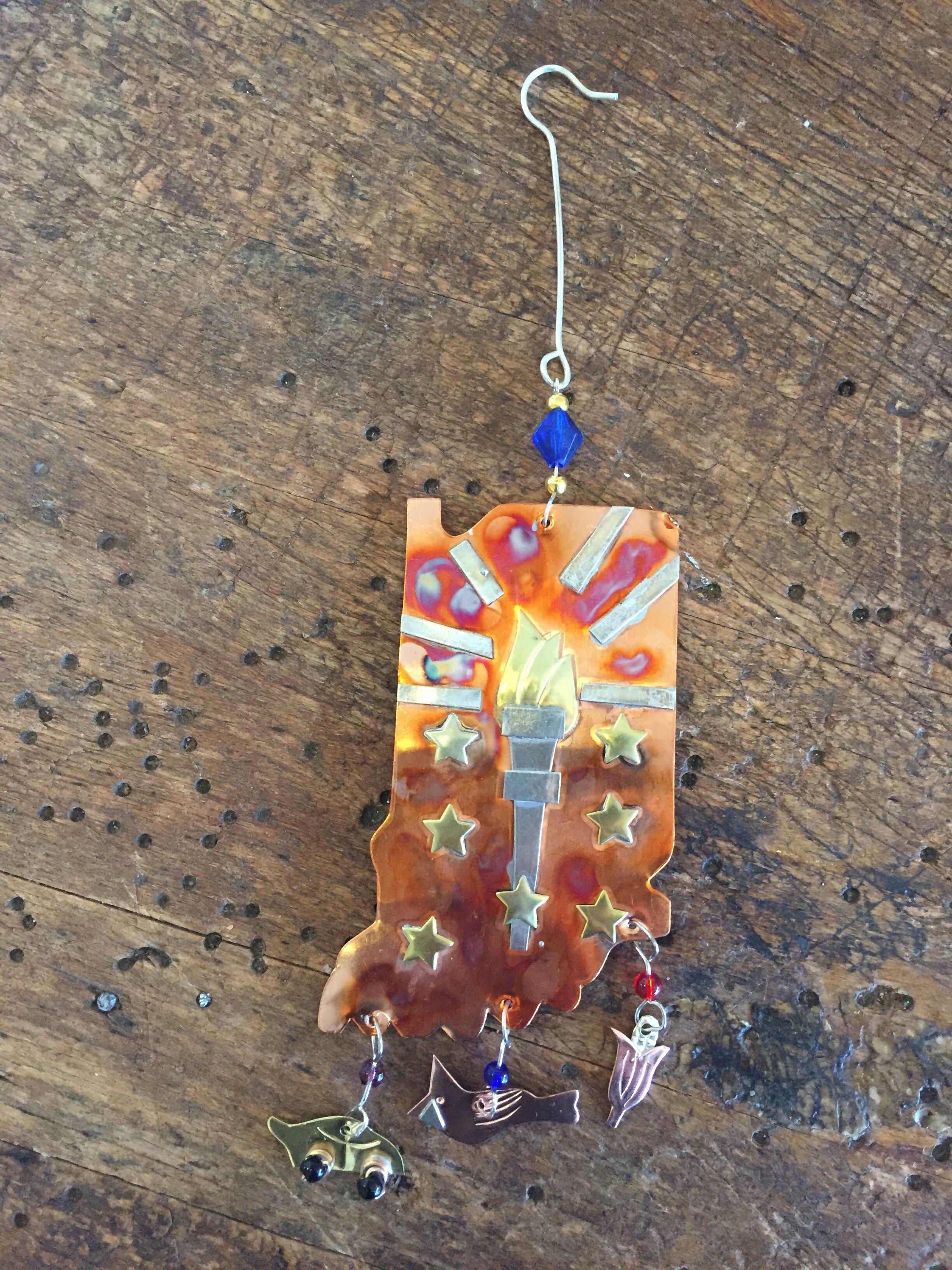 Pilgrim Imports Indiana Ornament