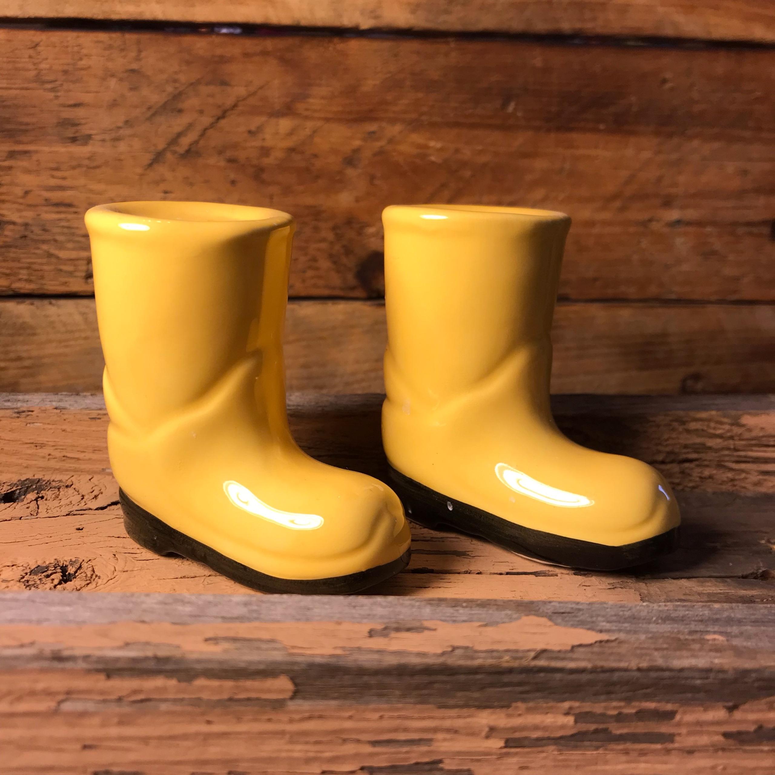 Rain Boots Salt And Pepper