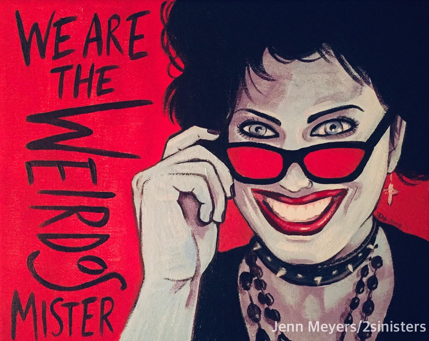Sinisters Nancy print