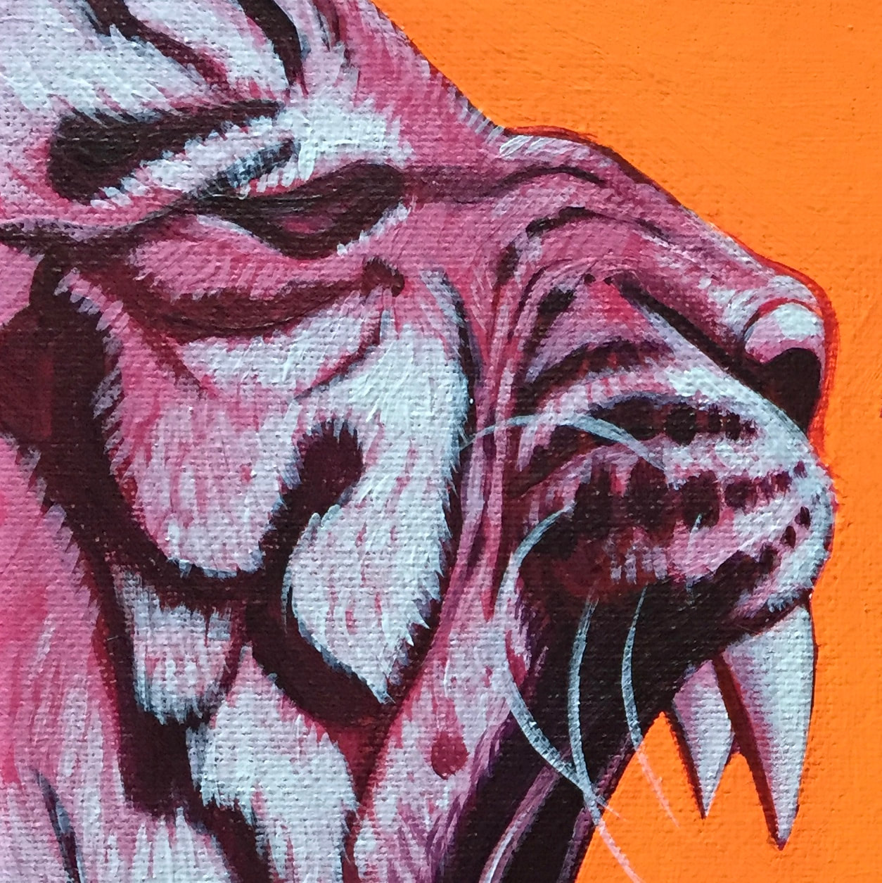 Sinisters Small & Weak (Tiger) print