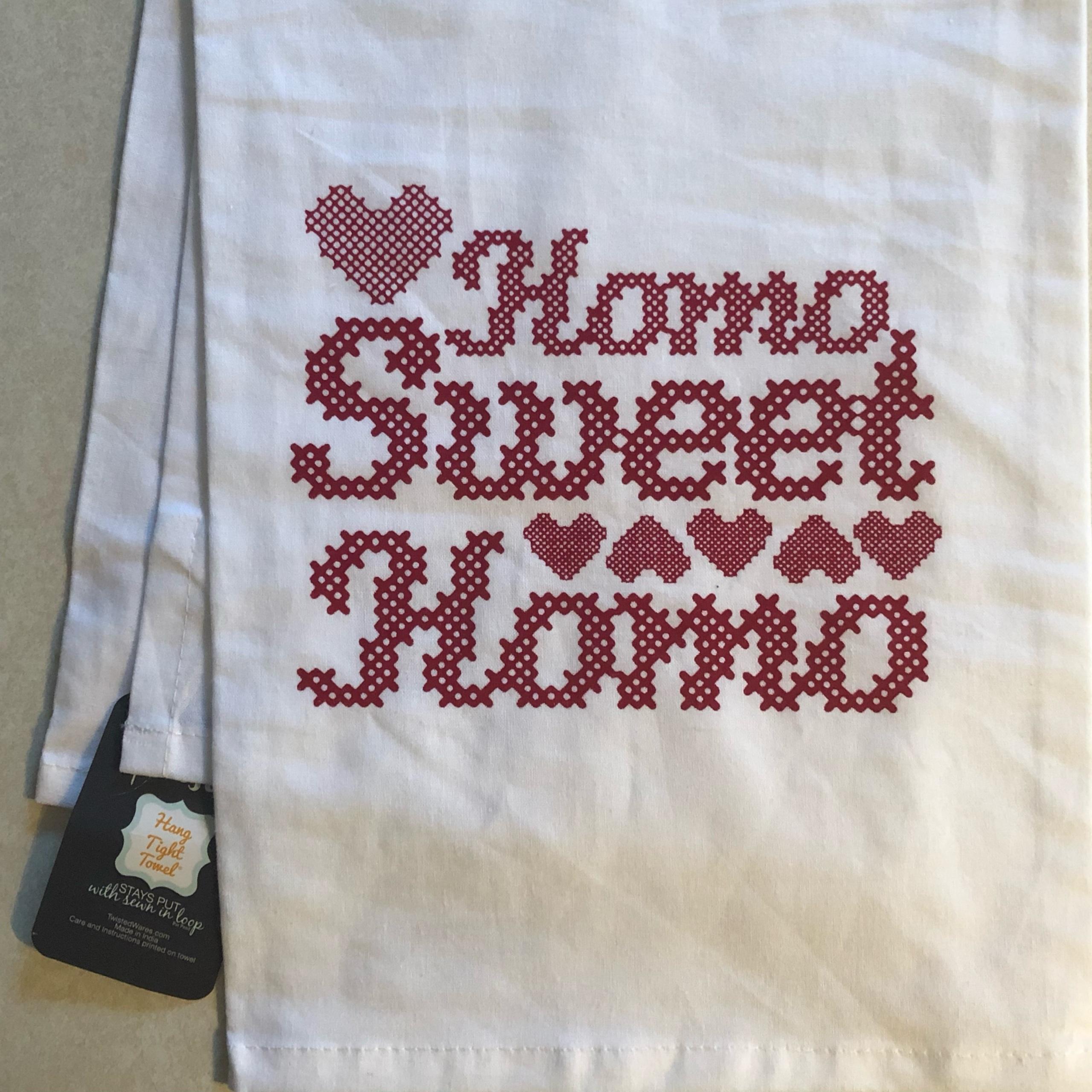Twisted Wares Homo Sweet Homo Tea Towel