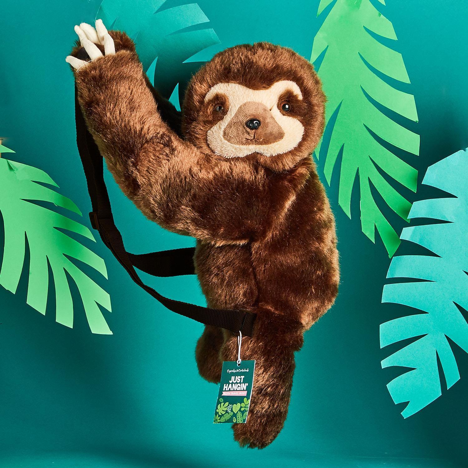 Two's Company Sloth Backpack