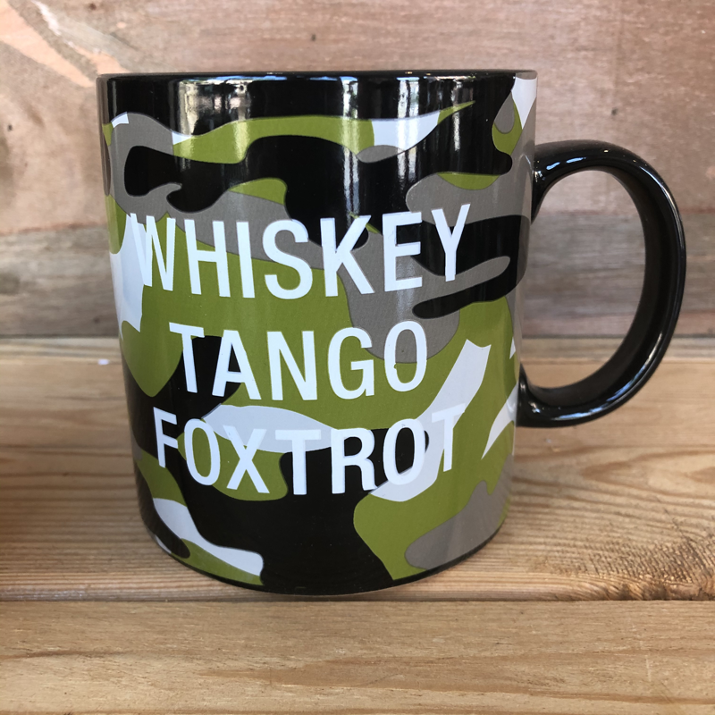 Whiskey Tango Foxtrot Giant Mug