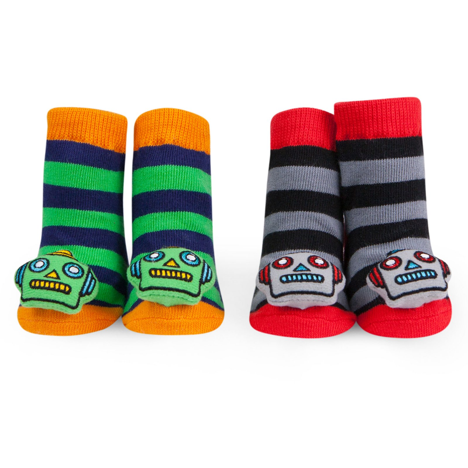 Waddle Rattle Socks Set of 2 Pair