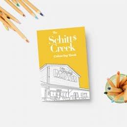 PM Schitt's Creek Coloring Book