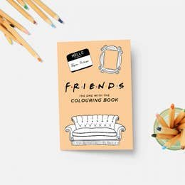 PM Friends Coloring Book