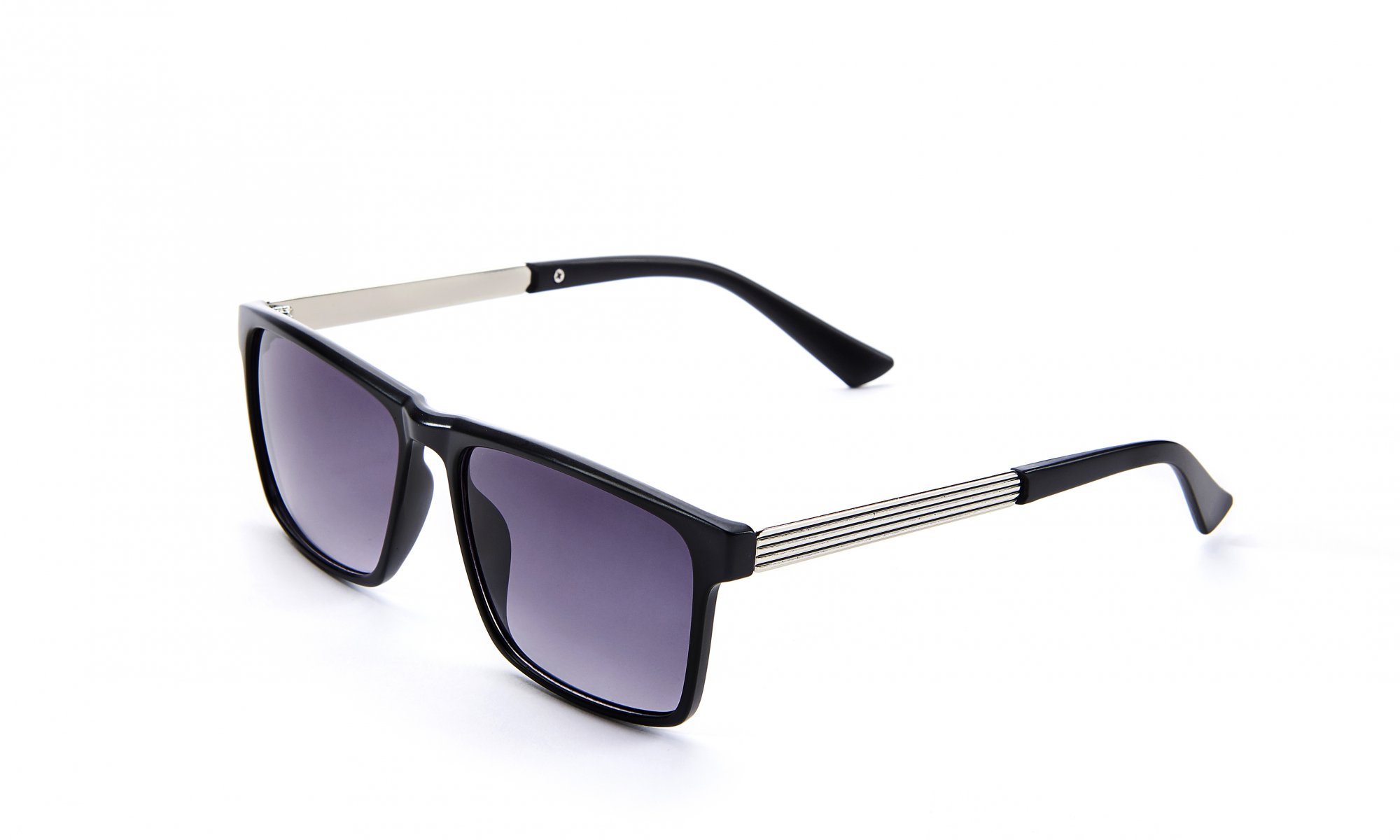 Black Sunglasses with Case & Cloth