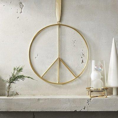 AD Peace Wreath