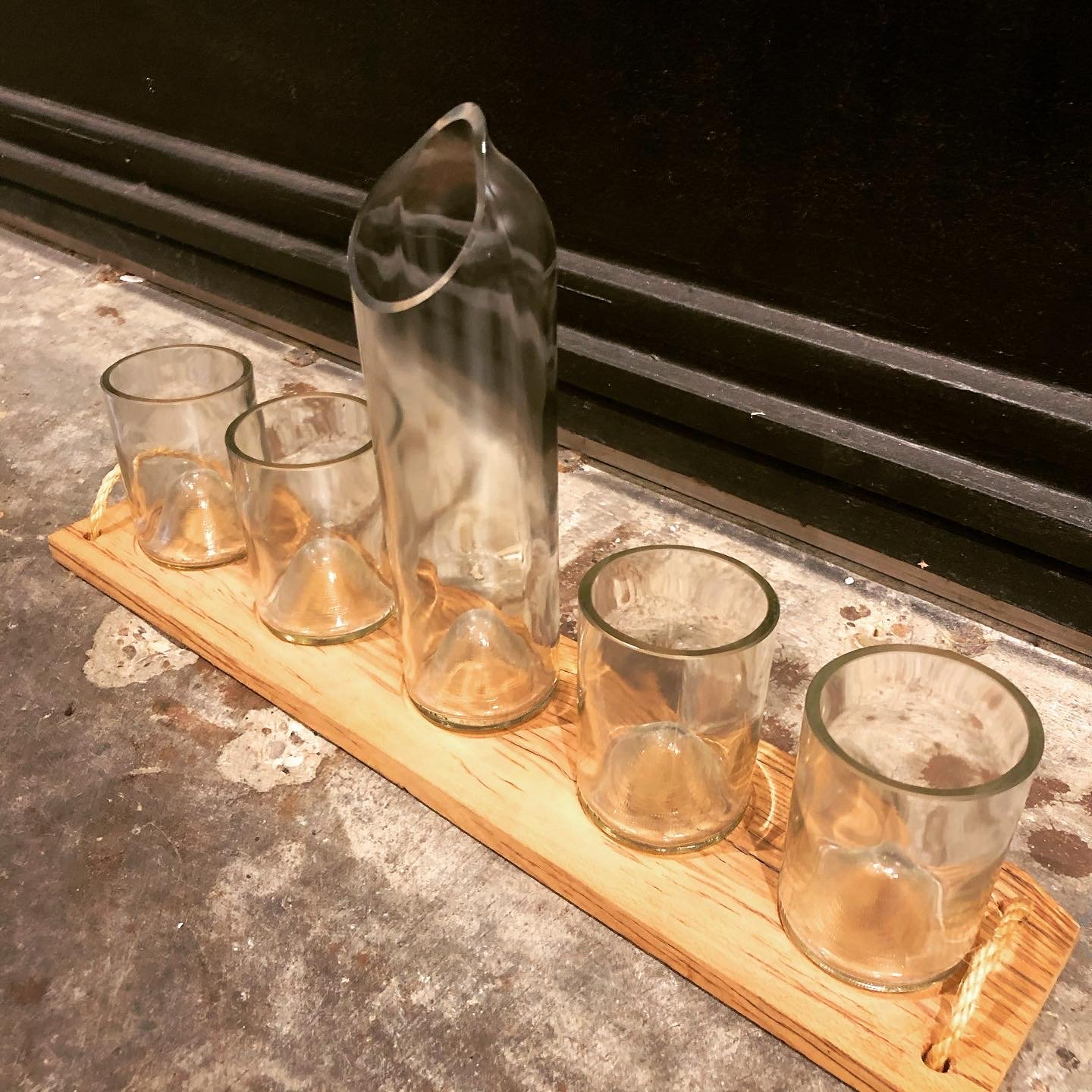 Recycled Bottle Service Set