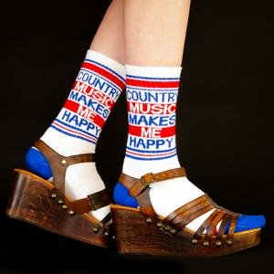 Gumball Poodle Country Music Socks