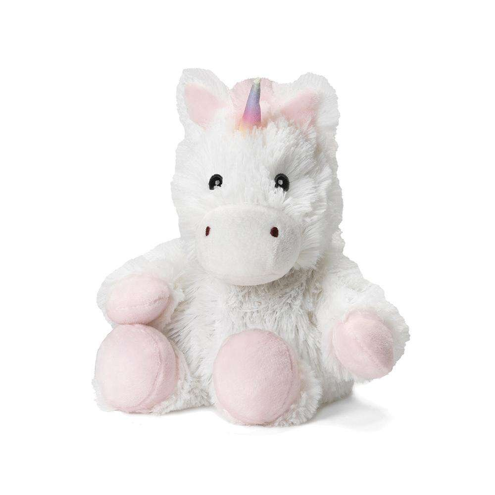 Warmies White Unicorn - Junior