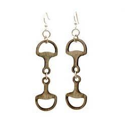 Greentree Horse Bit Earrings