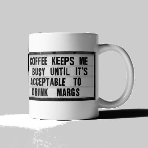 Keeps Me Busy Mug