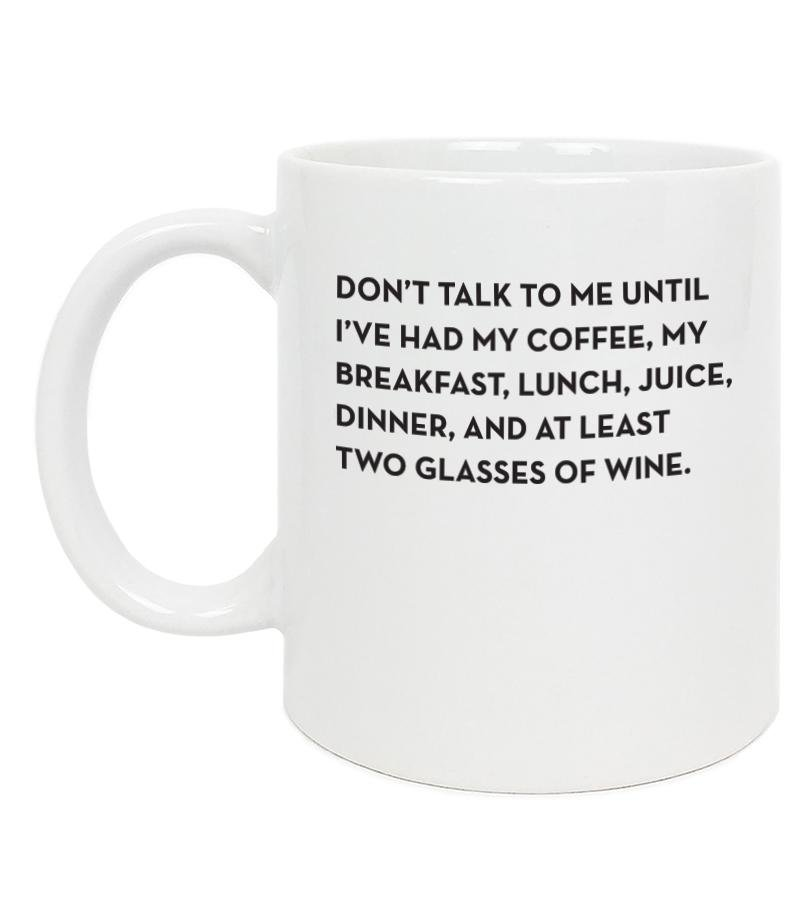SP Don't Talk Mug