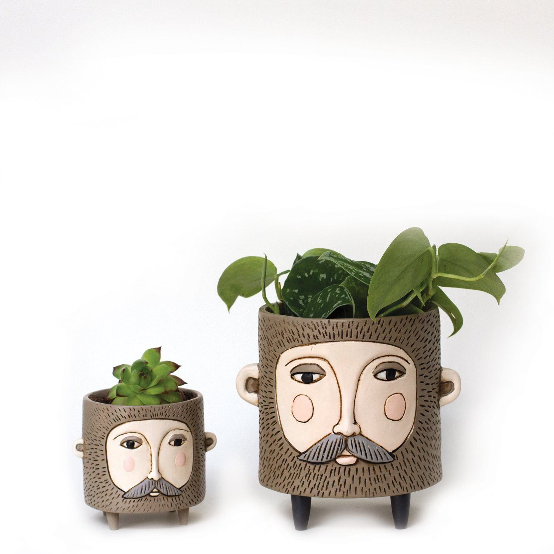 Bearded Planter
