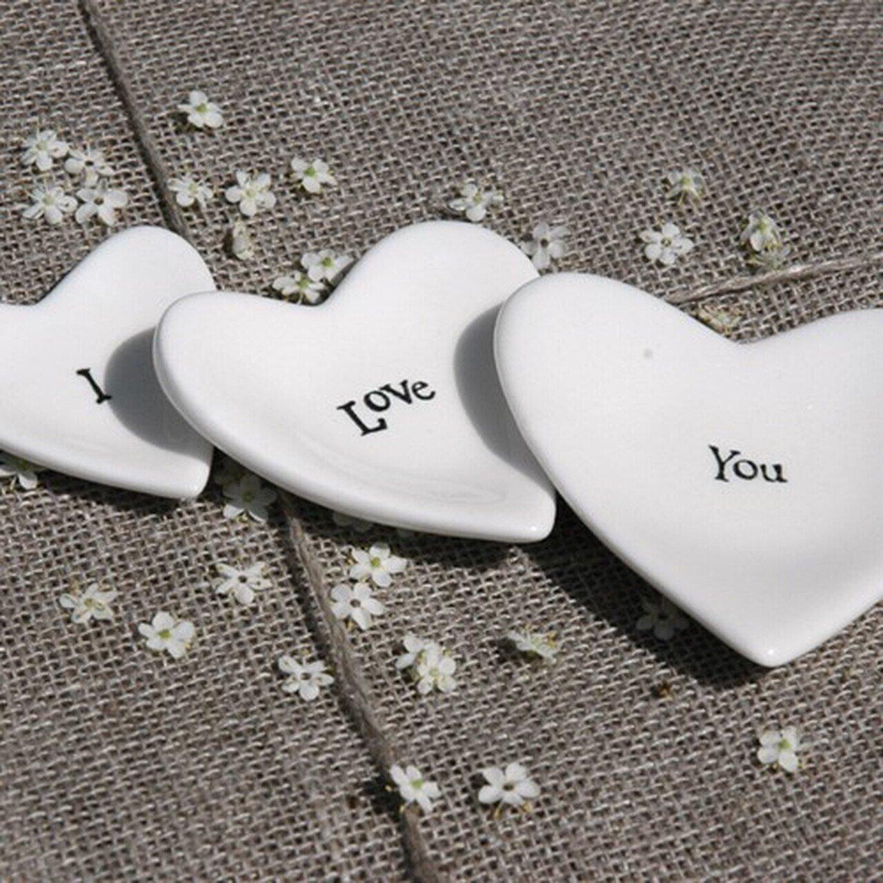 I love You Hearts (set of 3)