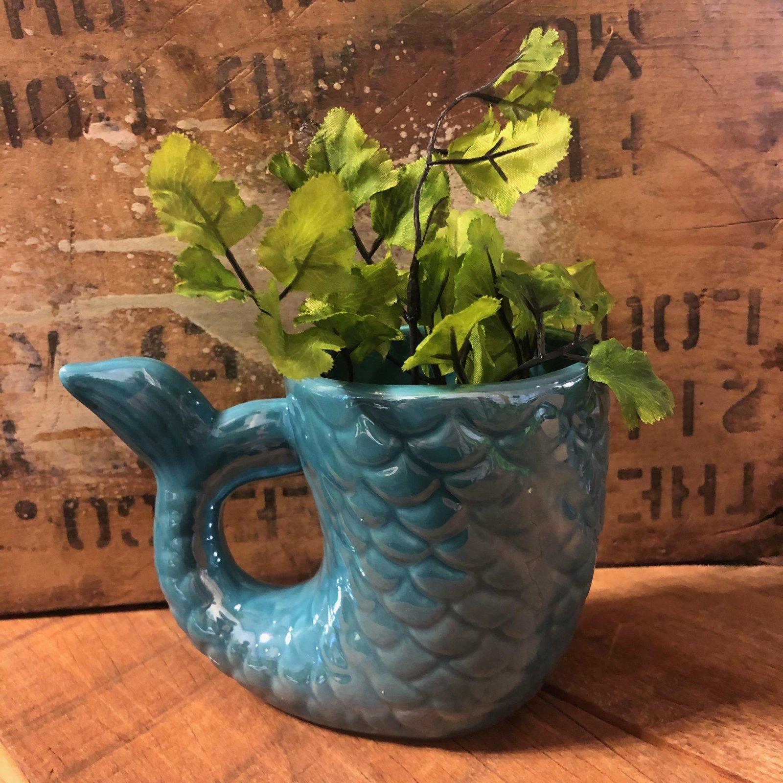 STR Mermaid Tail Mug/Planter