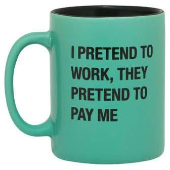 Pretend to Work Mug