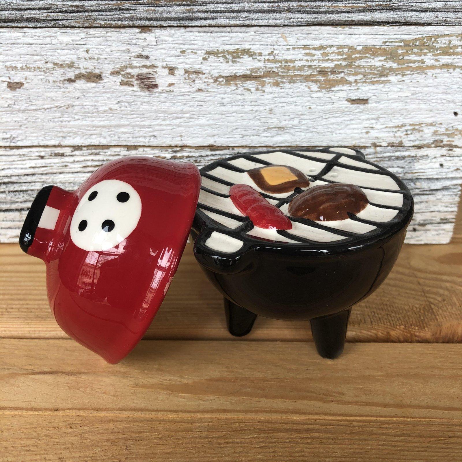 Grill Salt & Pepper Shakers