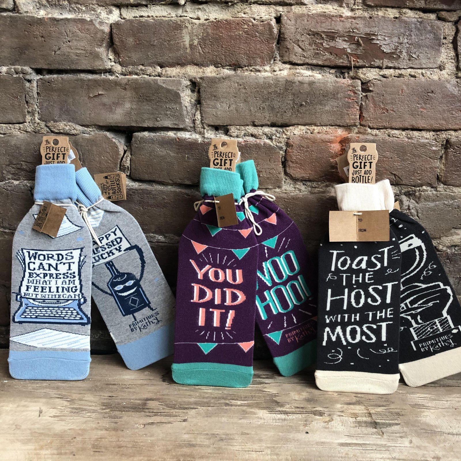 Bottle Sock - Words Cannot Express / You Did It / Toast The Host
