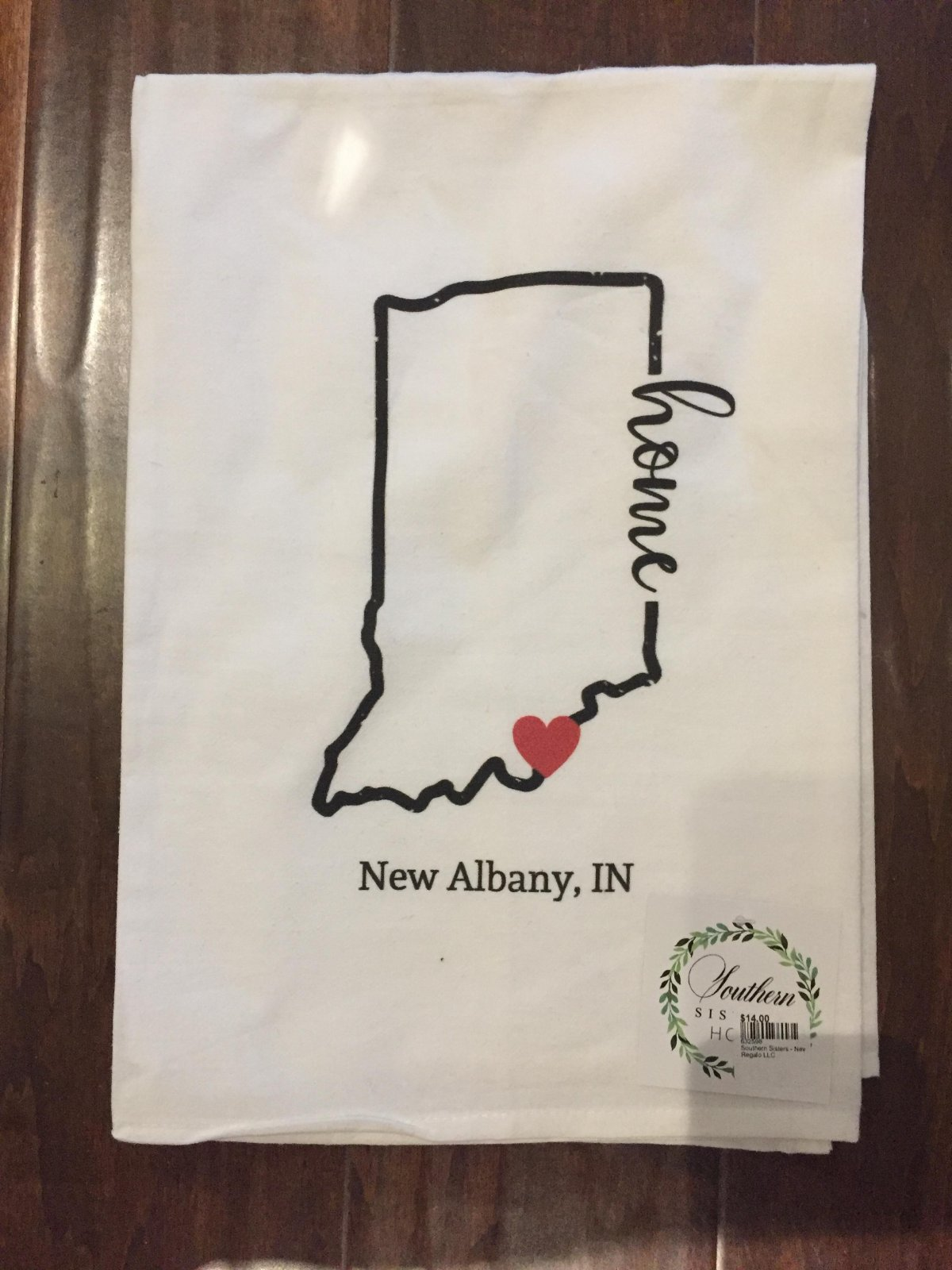 Southern Sisters - New Albany Tea Towel