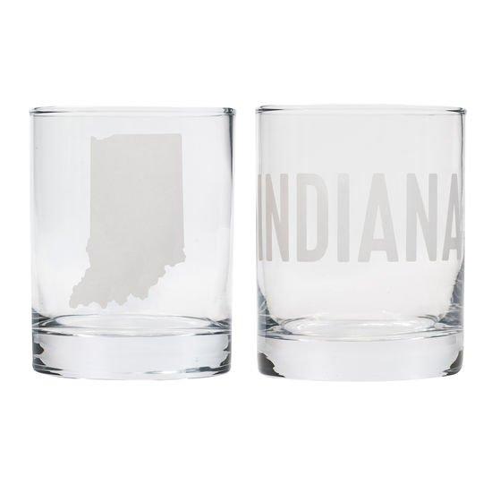 Indiana On The Rocks Glass Set