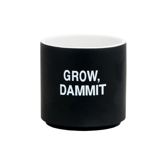 About Face Grow Dammit Planter