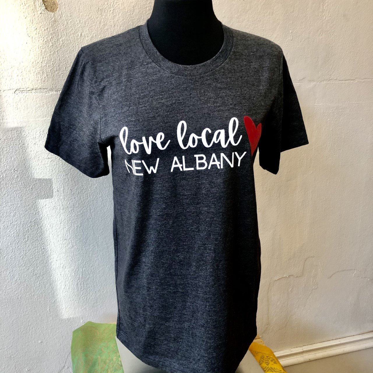 Love Local New Albany S/S T-Shirt - Charcoal