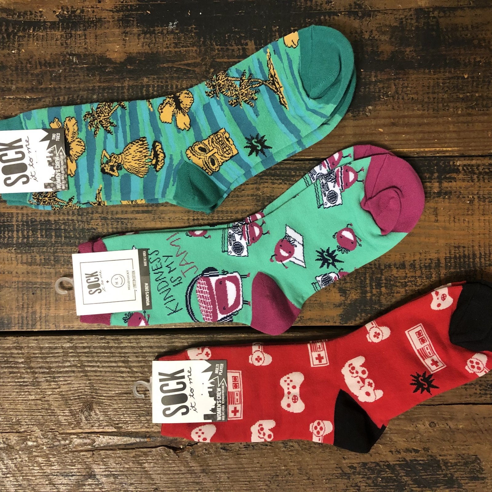 Women's Sock It Set