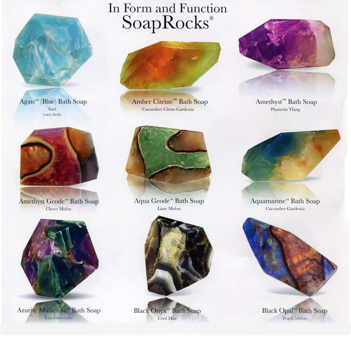T.S. Pink Soap Rocks