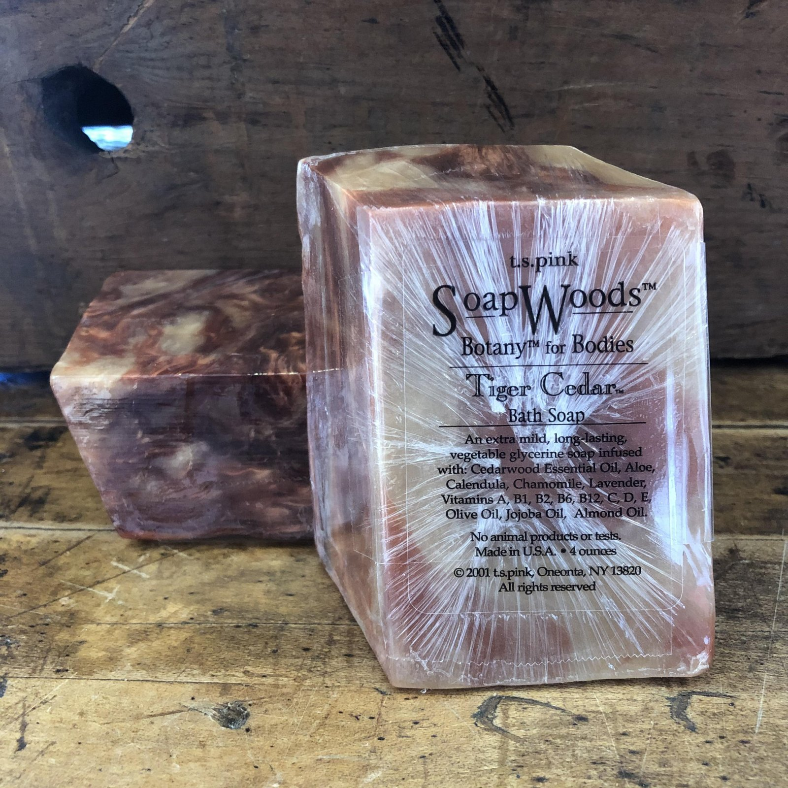 T.S. Pink Soap Woods