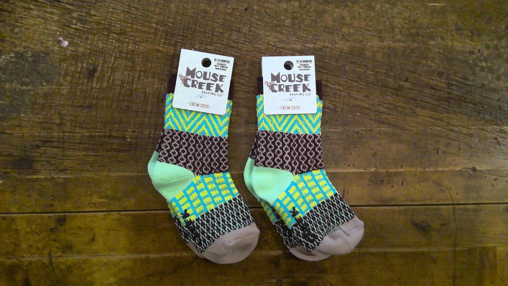 Mouse Creek Socks  Seashore 12-24