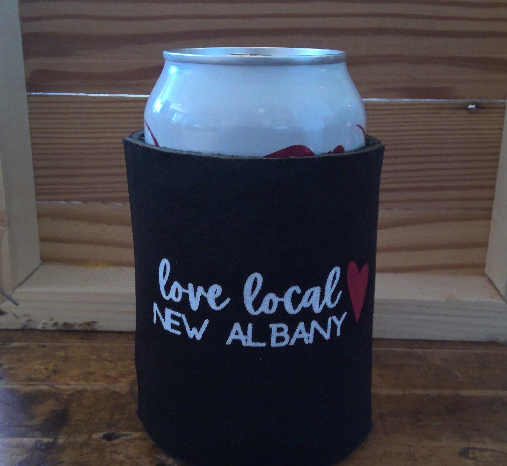 Love Local New Albany Koozie