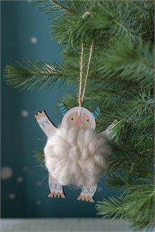 AD Yeti Cuddle Ornament
