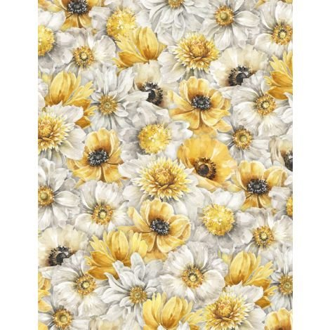 1409-86498-591 Packed Floral Multi