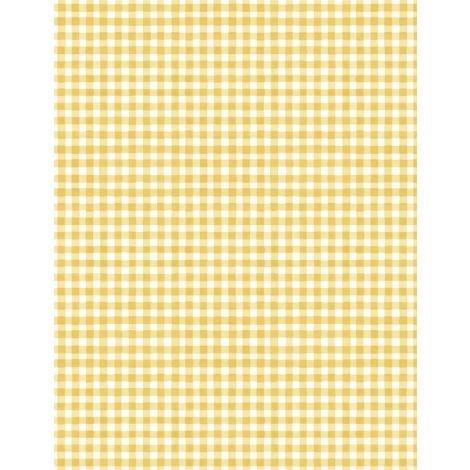 1409-86505-155 Gingham White Yellow