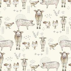 27677E Farm Life Farm Animal Cream