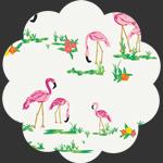 Flamingo Field Pearl WPA-54502