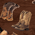 Happy Trails Boots Brown 51532-4