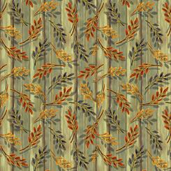 Harvest Elegance Leaf Sprigs Avacado 27672H
