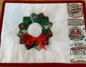 Mug Rug Quilters Patch