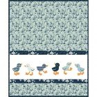 Blue Goose Duckling Pattern MAMP115