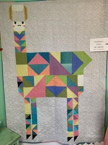 Patchwork Llama Quilt Kit (includes pattern)