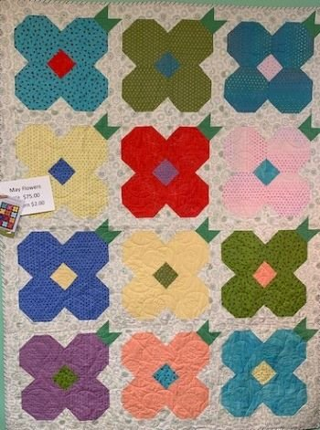 Mayflower Quilt Kit (includes pattern)