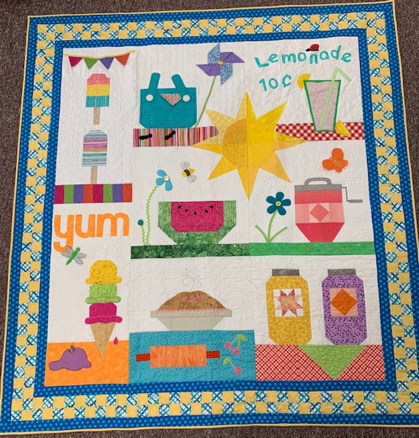 Quilters Trek Finished Quilt
