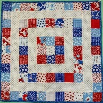 Mini Square It Up Kit (Blue) (includes pattern)