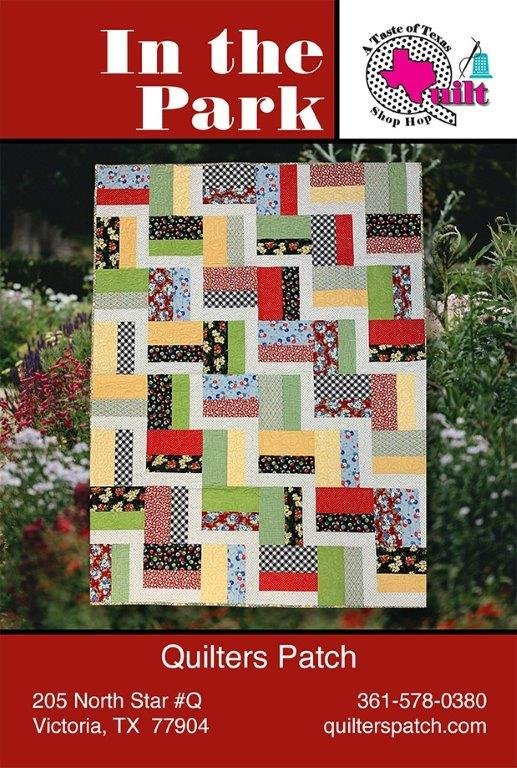 Shop Hop Reproduction for Quilters Patch